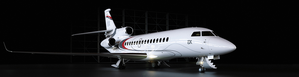 The Dassault Falcon 8X Business Jet