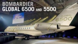 Bombardier 5500, 6500 & 7500