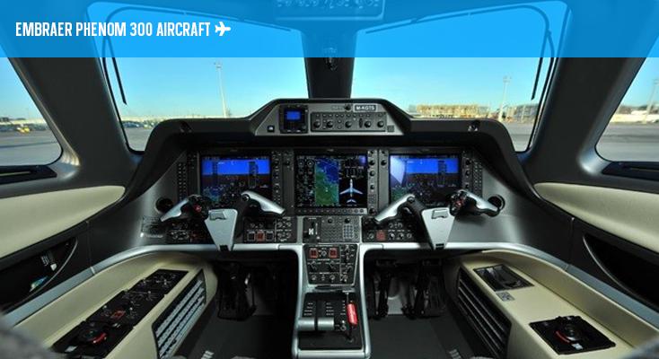 Phenom 300 - Cockpit