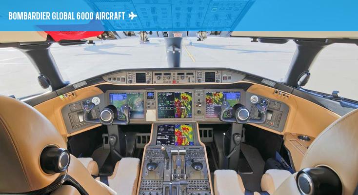 Global 6000 - Cockpit