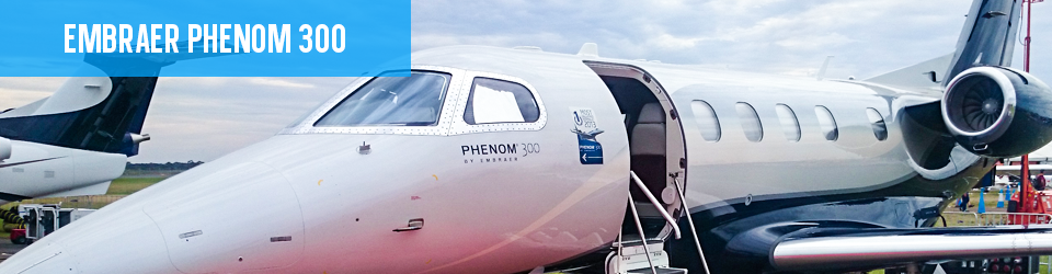 Embraer Phenom Preowned 300 Jet For Sale