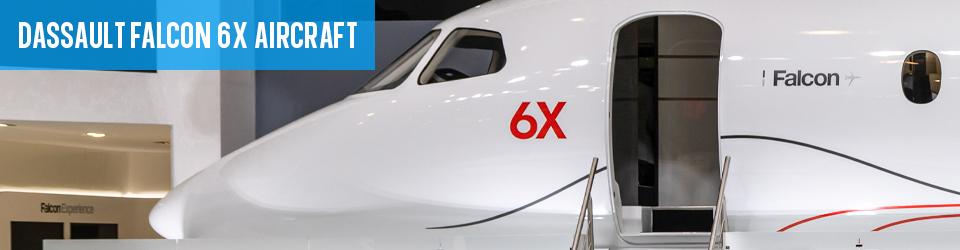 New Dassault Falcon 6X Aircraft Info