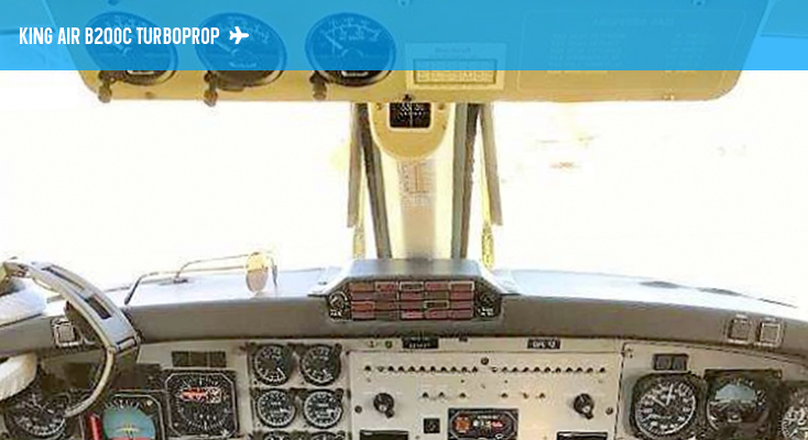 B200C Cockpit