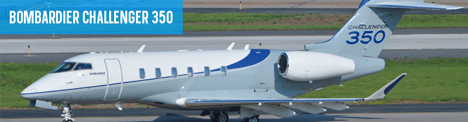 Bombardier Challenger 350 Aircraft Lease